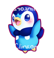 Piplup by Clinkorz