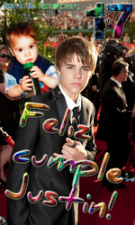 HAPPY 17th BDAY JUSTIN by YuliBieber