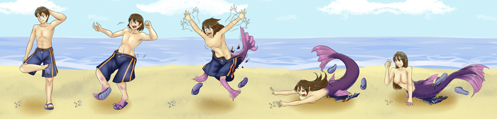 Comm - Watch Your Step Sequence Ver. (Mermaid TG) by KAIZA-TG