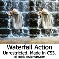 Waterfall Action by sd-stock