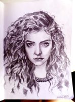 Lorde by faerwin