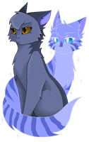 I Will Be There - Greystripe and Silverstream by Styx699