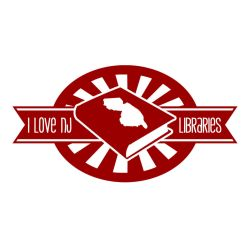 I Love NJ Libraries Logo 2 by Mazzy12345