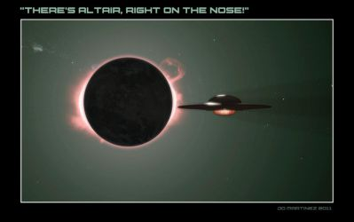 Altair, Right on the Nose by dragonpyper
