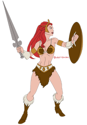 Battleground Teela by Glee-chan