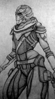 Vetra Nyx (Mass effect Andromeda) by CooMaster98