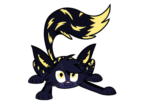 Ultrice the thunder cat by LeaOla
