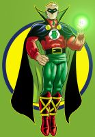 Alan Scott Green Lantern by Thuddleston