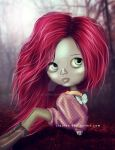 Doll with redhair
