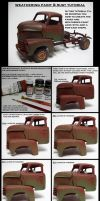 weathering paint an rust tutorial by devilsreject493