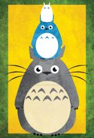.:Tower of Totoro:. by Berryblitzstudio