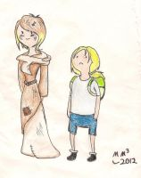Finn and Sally by MissyMeghan3