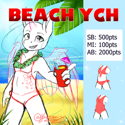Beach Ych auction - Closed by Jazzerix