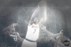 Carmelo Anthony Wallpaper - 62 Points by RafaelVicenteDesigns