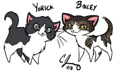 Yorick and Bailey by Candy-Janney