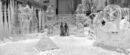 Ice sculptures by philosopher1123