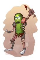 Pickle Rick by geogant