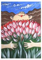 Tulips for friends by Alena-48