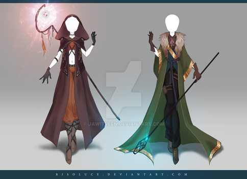 (CLOSED) Adoptable Outfit Auction 181 - 182 by JawitReen