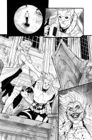 Red Hood / Arsenal n.5 page 20 by DenisM79