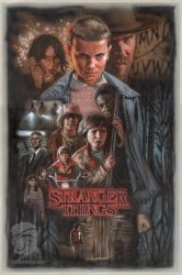 StrangerThings paintingweb by Jeffherndraw