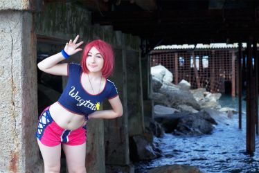 Rose Tales of Zestiria Summer DLC cosplay by Giacchan