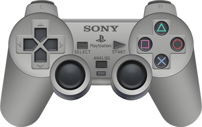Sony PlayStation Analog Controller by BLUEamnesiac
