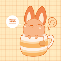 Tea Fox by Daieny