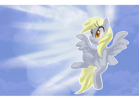 Derping In The Clouds by Kaji-Tanii