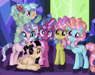 MLP Movieverse Taking a Picture by DoraeArtDreams-Aspy