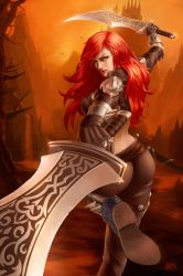 Katarina - League Of Legends by PVproject