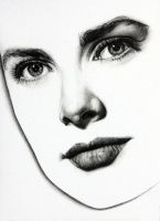 Grace Kelly (minimal) by KlarEm