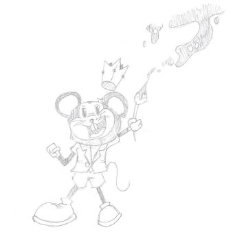 my style of epic mickey by darowadrawings