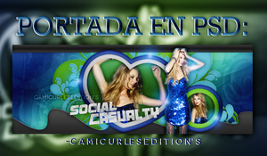 +PORTADA PSD: Social Casualty~~ by CAMI-CURLES-EDITIONS