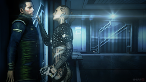 Rough Love (Mass Effect 3) by toxioneer