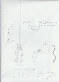 dragon weapons 1 by AgniandRudra