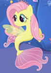 Fluttershy Seapony by user15432