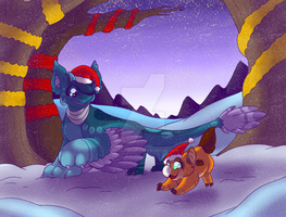 A Snowy Walk - Wyngro Secret Santa by SmallTimidBean