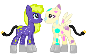 Chardonnay Ritz X Party Lights (Done and closed) by Oobiedoobs