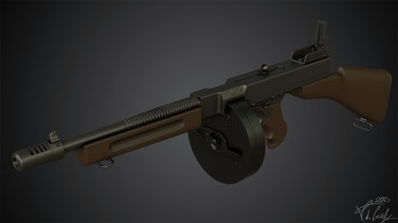 Thompson m1928 by BabylonYoke