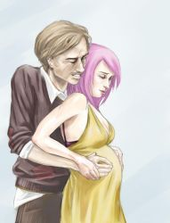 Tonks and Lupin. by endoftheline