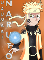 [ANIME ART] Uzumaki Naruto by Seb-LK-585