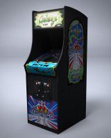 Galaga Arcade Machine by nocomplys