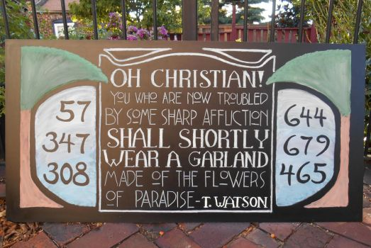 August Chapel Chalkboard by GetToTheLibrary