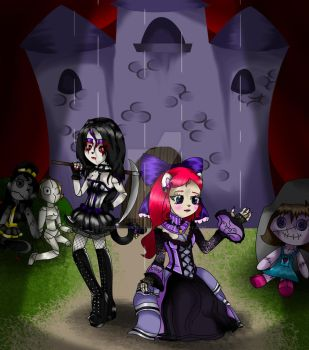 Gothic Dolls by SomeMonsterFangirl