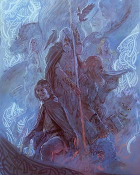 Norse  Mythology by MarcSimonetti