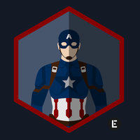 Captain America Icon by thelivingethan