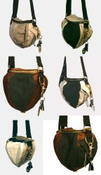 Seed pod bags by Marcusstratus