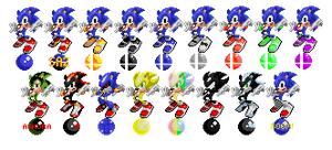 Alternate Sonic Styles With a Classic Twist by Des-the-Dragon