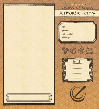 Republic City App Template by glorycolor